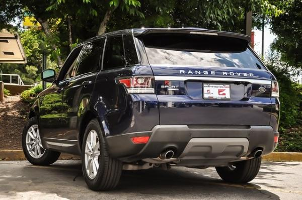 Used 2016 Land Rover Range Rover Sport 3.0L V6 Supercharged SE for sale Sold at Gravity Autos in Roswell GA 30076 3