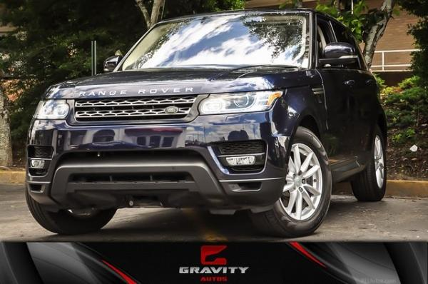 Used 2016 Land Rover Range Rover Sport 3.0L V6 Supercharged SE for sale Sold at Gravity Autos in Roswell GA 30076 1