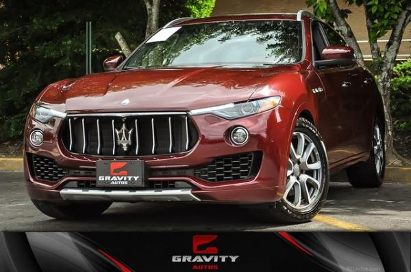 Used 2017 Maserati Levante for sale Sold at Gravity Autos in Roswell GA 30076 1