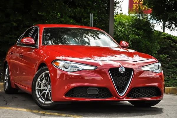 Used 2018 Alfa Romeo Giulia for sale Sold at Gravity Autos in Roswell GA 30076 2