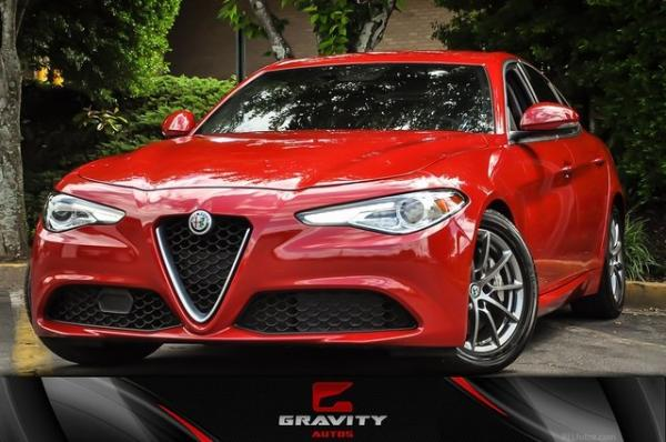 Used 2018 Alfa Romeo Giulia for sale Sold at Gravity Autos in Roswell GA 30076 1