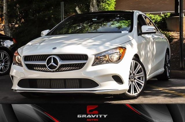 Used 2018 Mercedes-Benz CLA CLA 250 for sale $23,300 at Gravity Autos in Roswell GA 30076 1