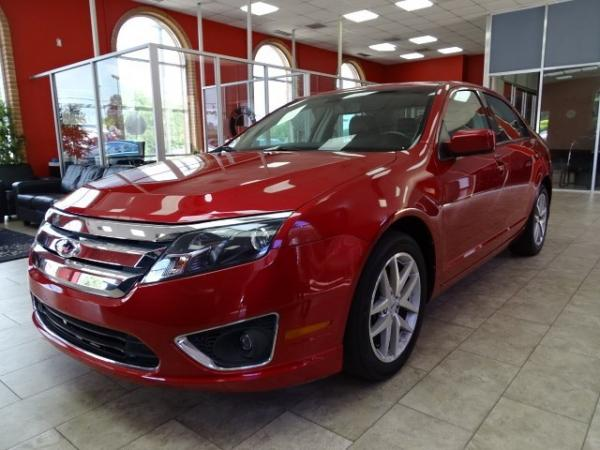 Used 2012 Ford Fusion SEL for sale Sold at Gravity Autos in Roswell GA 30076 3