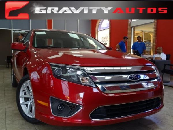 Used 2012 Ford Fusion SEL for sale Sold at Gravity Autos in Roswell GA 30076 1