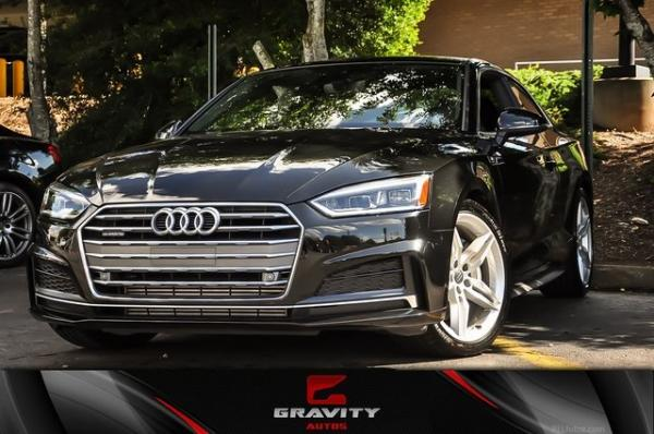 Used 2018 Audi A5 2.0T Premium Plus for sale $29,995 at Gravity Autos in Roswell GA 30076 1