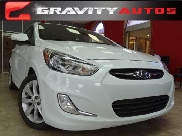 Used 2013 Hyundai Accent SE for sale Sold at Gravity Autos in Roswell GA 30076 1