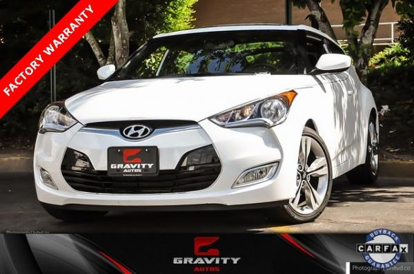 Used 2017 Hyundai Veloster Value Edition for sale $14,878 at Gravity Autos in Roswell GA