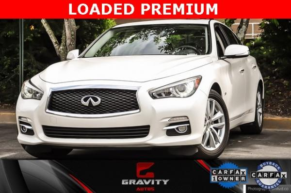Used 2017 INFINITI Q50 2.0t Premium for sale $19,995 at Gravity Autos in Roswell GA