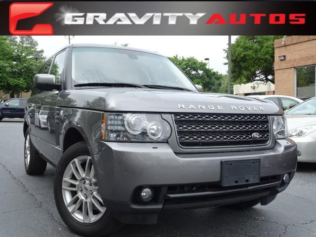 Used 2011 Land Rover Range Rover HSE for sale Sold at Gravity Autos in Roswell GA 30076 1
