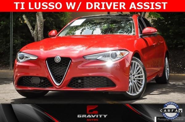 Used 2017 Alfa Romeo Giulia Ti for sale $24,995 at Gravity Autos in Roswell GA