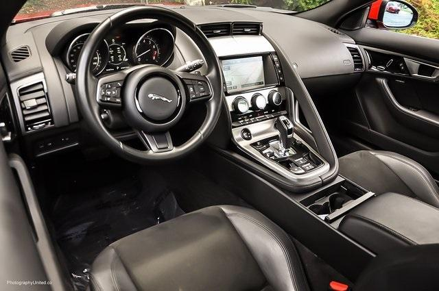 Used 2017 Jaguar F-TYPE for sale Sold at Gravity Autos Atlanta in Chamblee GA 30341 7