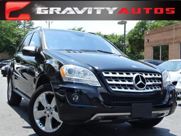 Used 2009 Mercedes-Benz M-Class 3.5L for sale Sold at Gravity Autos in Roswell GA 30076 1