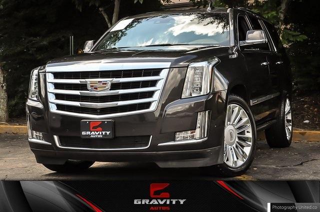 Used 2018 Cadillac Escalade Platinum Edition for sale Sold at Gravity Autos Atlanta in Chamblee GA 30341 1