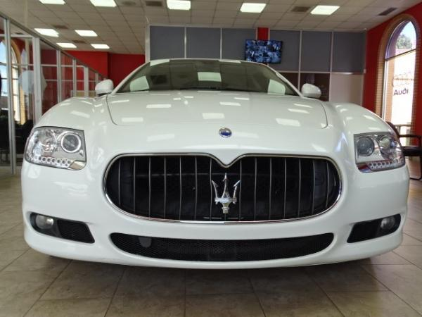 Used 2009 Maserati Quattroporte for sale Sold at Gravity Autos in Roswell GA 30076 2