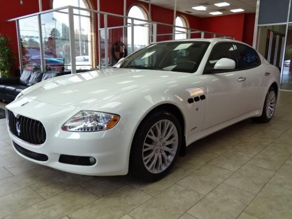 Used 2009 Maserati Quattroporte for sale Sold at Gravity Autos in Roswell GA 30076 3