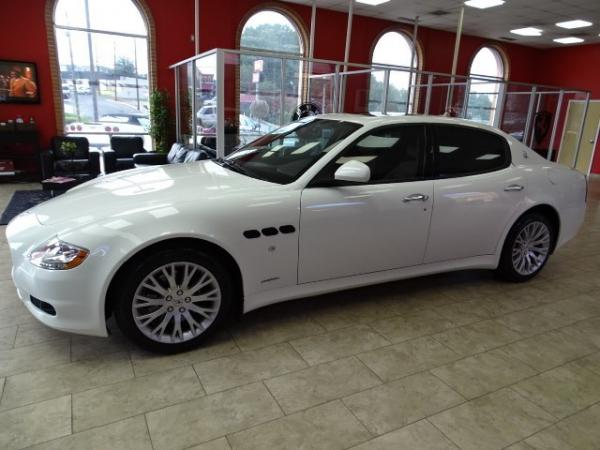 Used 2009 Maserati Quattroporte for sale Sold at Gravity Autos in Roswell GA 30076 4
