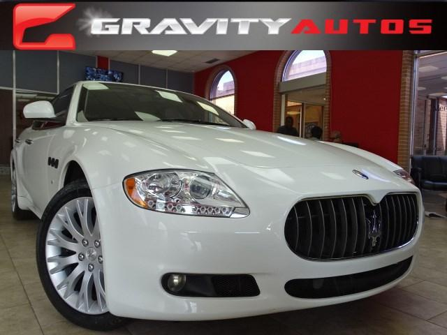Used 2009 Maserati Quattroporte for sale Sold at Gravity Autos in Roswell GA 30076 1