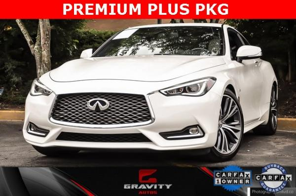 Used 2017 INFINITI Q60 3.0t Premium for sale $29,895 at Gravity Autos in Roswell GA