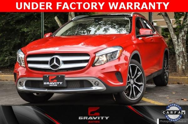 Used 2017 Mercedes-Benz GLA GLA 250 for sale $23,795 at Gravity Autos in Roswell GA