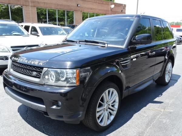 Used 2010 Land Rover Range Rover Sport HSE LUX for sale Sold at Gravity Autos in Roswell GA 30076 3