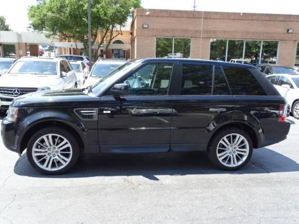 Used 2010 Land Rover Range Rover Sport HSE LUX for sale Sold at Gravity Autos in Roswell GA 30076 4