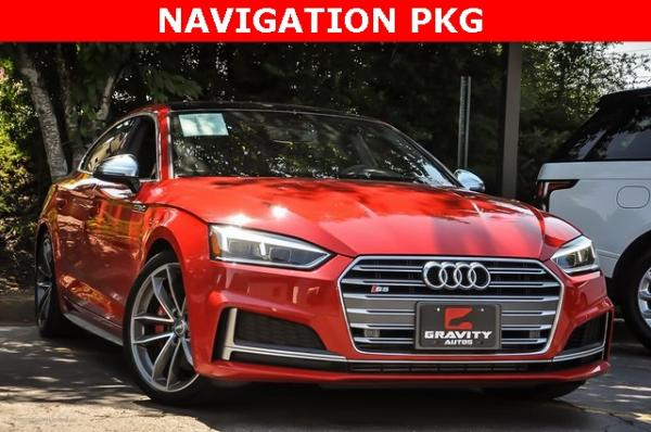 Used 2018 Audi S5 3.0T Premium Plus for sale Sold at Gravity Autos in Roswell GA 30076 2