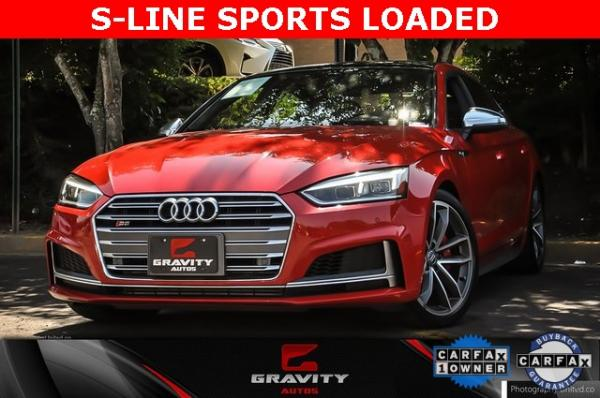 Used 2018 Audi S5 3.0T Premium Plus for sale $42,395 at Gravity Autos in Roswell GA