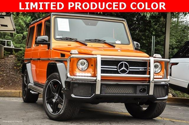 Used 2016 Mercedes-Benz G-Class G 63 AMG for sale Sold at Gravity Autos Atlanta in Chamblee GA 30341 2