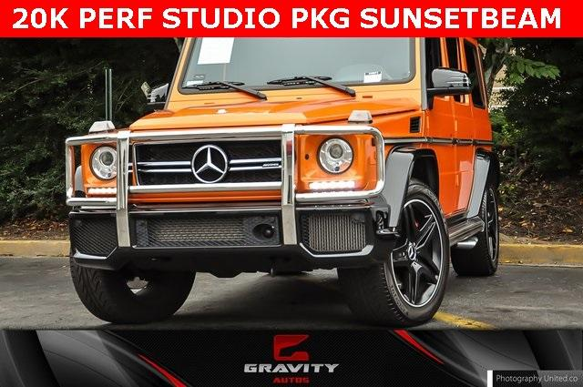 Used 2016 Mercedes-Benz G-Class G 63 AMG for sale Sold at Gravity Autos Atlanta in Chamblee GA 30341 1