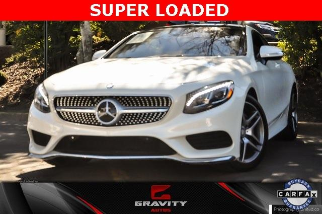 Used 2016 Mercedes-Benz S-Class S 550 for sale Sold at Gravity Autos in Roswell GA 30076 1