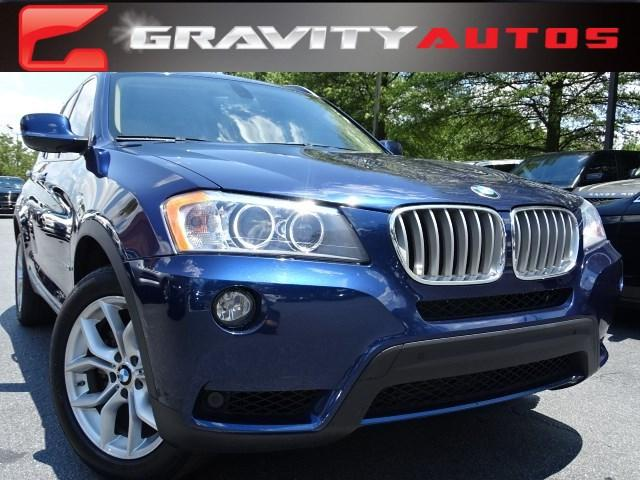 Used 2012 BMW X3 35i for sale Sold at Gravity Autos in Roswell GA 30076 1