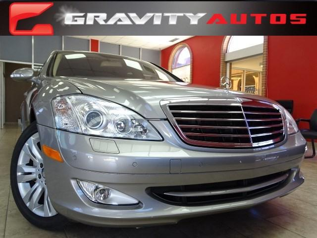 Used 2009 Mercedes-Benz S-Class 5.5L V8 for sale Sold at Gravity Autos in Roswell GA 30076 1