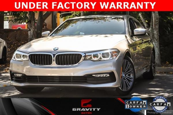 Used 2017 BMW 5 Series 530i for sale $28,995 at Gravity Autos in Roswell GA