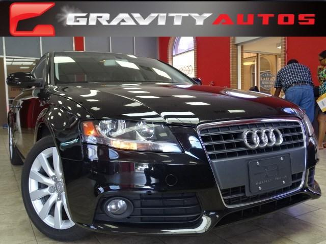 Used 2012 Audi A4 2.0T Premium for sale Sold at Gravity Autos in Roswell GA 30076 1