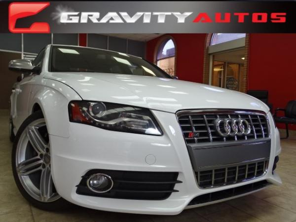 Used 2012 Audi S4 Premium Plus for sale Sold at Gravity Autos in Roswell GA 30076 1