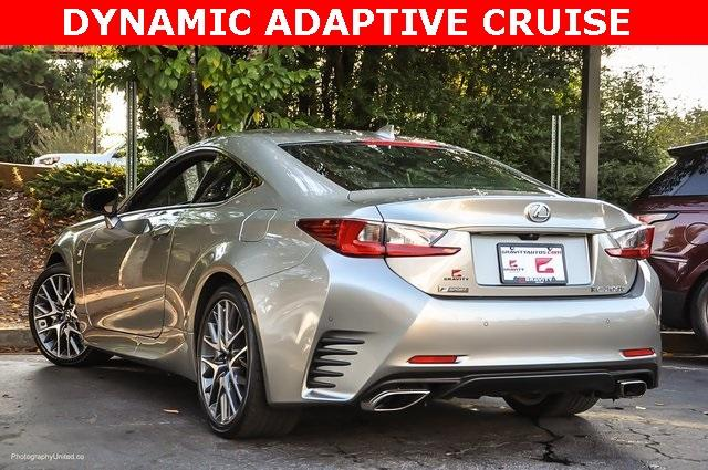 Used 2017 Lexus RC 200t for sale Sold at Gravity Autos Atlanta in Chamblee GA 30341 3
