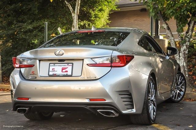 Used 2017 Lexus RC 200t for sale Sold at Gravity Autos Atlanta in Chamblee GA 30341 4