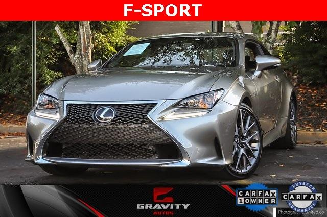 Used 2017 Lexus RC 200t for sale Sold at Gravity Autos Atlanta in Chamblee GA 30341 1