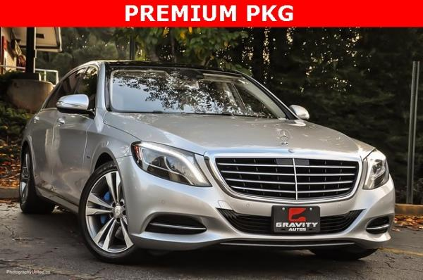 Used 2017 Mercedes-Benz S-Class S 550e for sale Sold at Gravity Autos in Roswell GA 30076 2