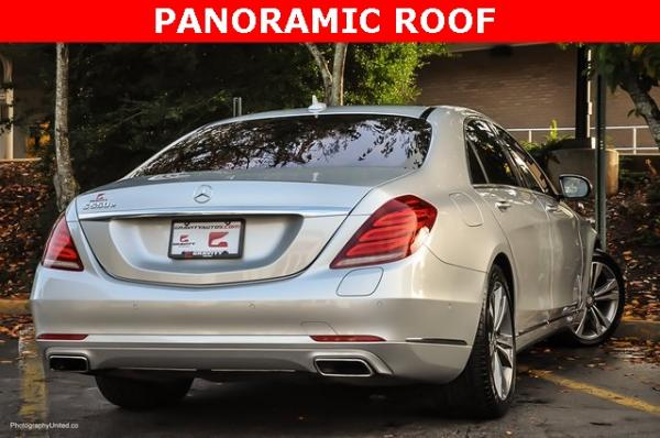 Used 2017 Mercedes-Benz S-Class S 550e for sale Sold at Gravity Autos in Roswell GA 30076 4