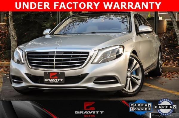 Used 2017 Mercedes-Benz S-Class S 550e for sale $44,995 at Gravity Autos in Roswell GA