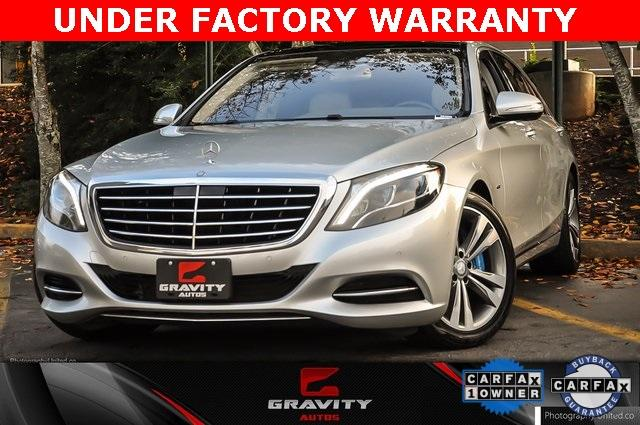 Used 2017 Mercedes-Benz S-Class S 550e for sale Sold at Gravity Autos in Roswell GA 30076 1