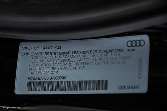 Used 2017 Audi A6 2.0T Premium for sale Sold at Gravity Autos Atlanta in Chamblee GA 30341 26