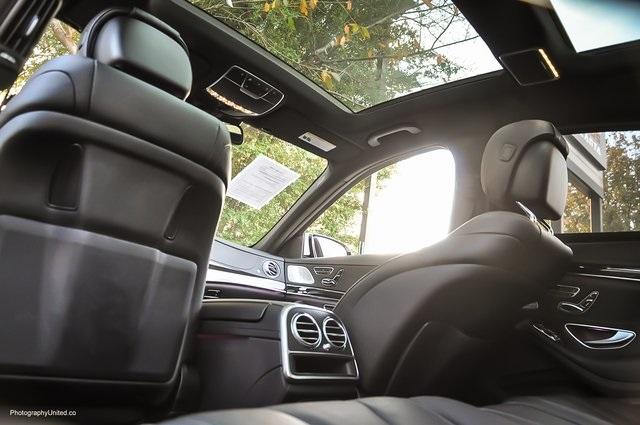 Used 2017 Mercedes-Benz S-Class S 550 for sale Sold at Gravity Autos Atlanta in Chamblee GA 30341 28