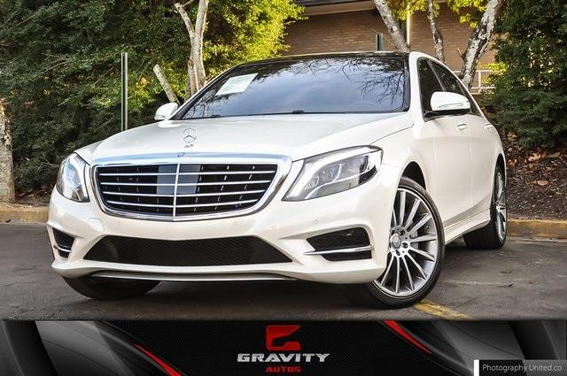 Used 2017 Mercedes-Benz S-Class S 550 for sale Sold at Gravity Autos Atlanta in Chamblee GA 30341 1