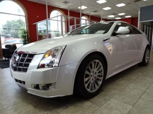 Used 2013 Cadillac CTS Coupe Premium for sale Sold at Gravity Autos in Roswell GA 30076 3