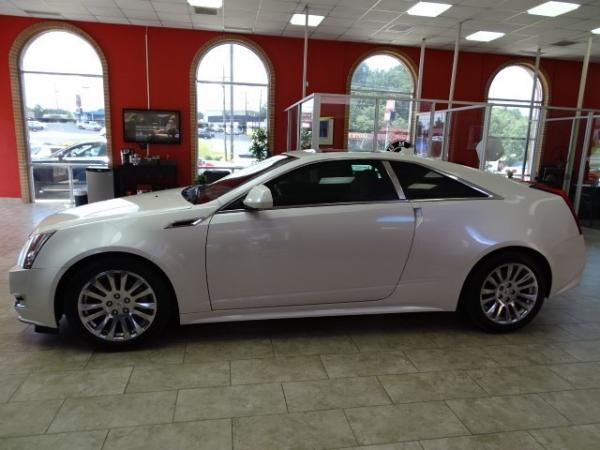 Used 2013 Cadillac CTS Coupe Premium for sale Sold at Gravity Autos in Roswell GA 30076 4