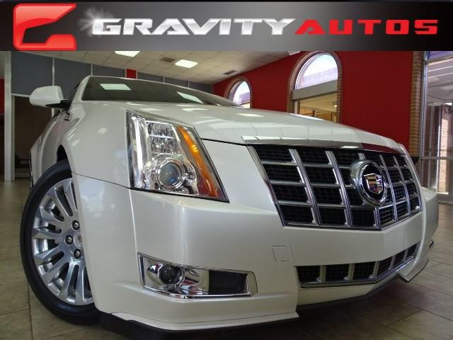 Used 2013 Cadillac CTS Coupe Premium for sale Sold at Gravity Autos in Roswell GA 30076 1