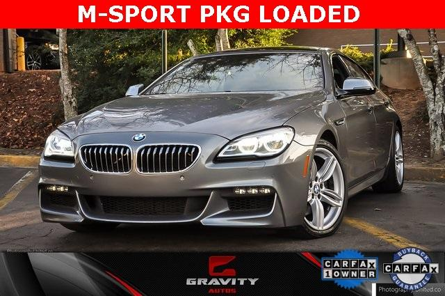 Used 2017 BMW 6 Series 640i xDrive Gran Coupe for sale Sold at Gravity Autos Atlanta in Chamblee GA 30341 1