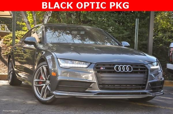 Used 2017 Audi S7 4.0T Premium Plus for sale Sold at Gravity Autos in Roswell GA 30076 2